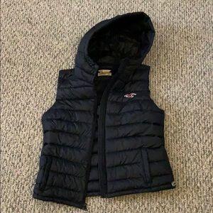 Hollister puffer vest